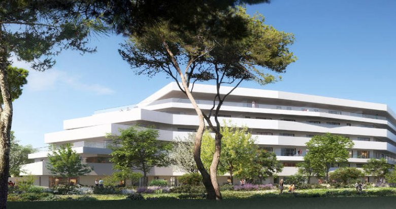 Achat / Vente appartement neuf Marseille à 200 mètres de la mer (13008) - Réf. 3906