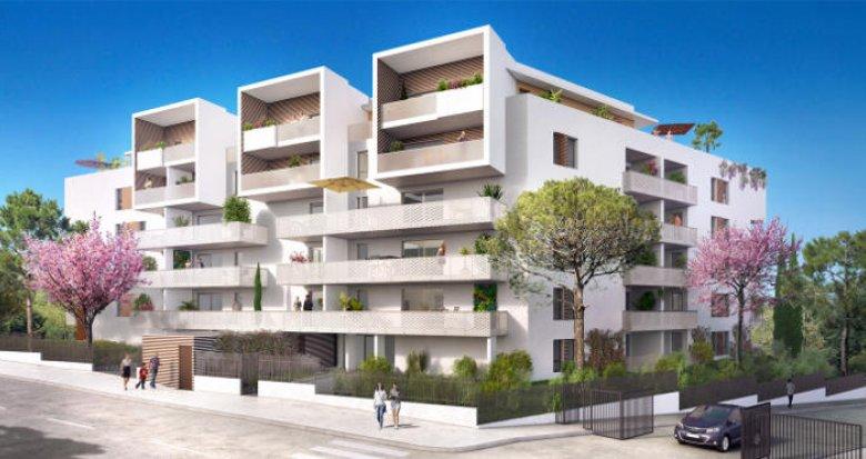 Achat / Vente appartement neuf Marseille au cœur du 10ème arrondissement (13010) - Réf. 2407