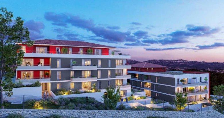Achat / Vente appartement neuf Marseille les 3 Lucs résidence intimiste (13012) - Réf. 5724