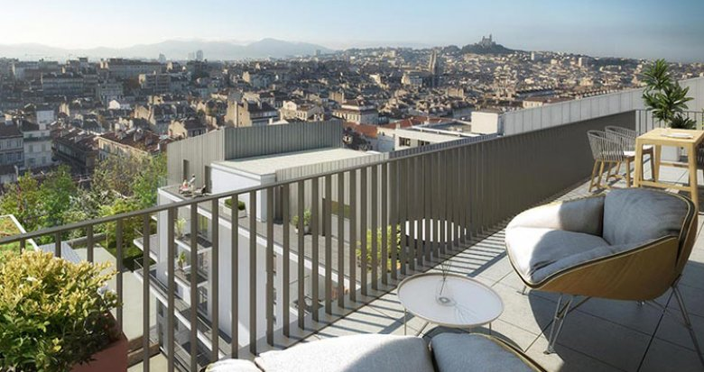 Achat / Vente appartement neuf Marseille proche parc Longchamps (13001) - Réf. 2261