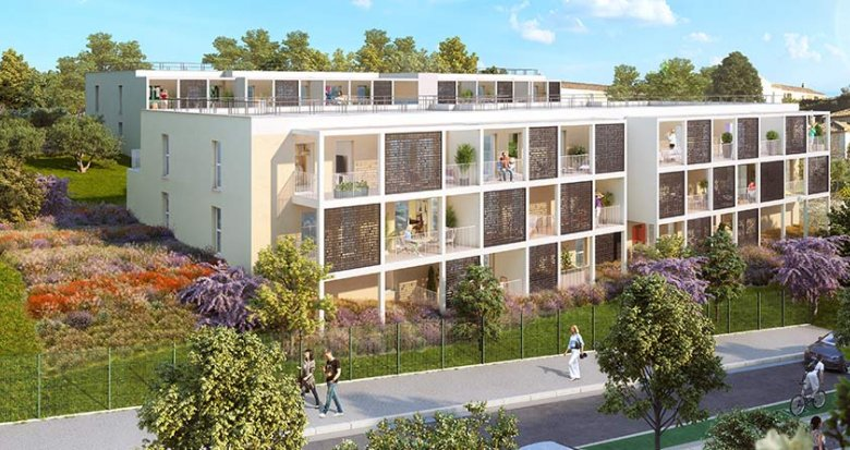 Achat / Vente appartement neuf Marseille quartier de la Croix-Rouge (13013) - Réf. 1865
