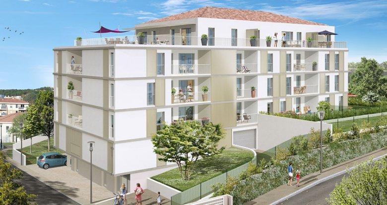 Achat / Vente appartement neuf Marseille quartier des Camoins (13011) - Réf. 1747