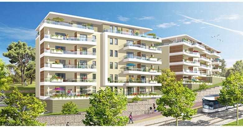 Achat / Vente appartement neuf Marseille quartier Saint-Jean-du-Désert (13012) - Réf. 1031