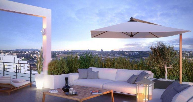 Achat / Vente appartement neuf Marseille quartier Saint Loup (13010) - Réf. 1371
