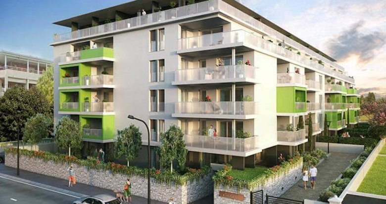 Achat / Vente appartement neuf Marseille secteur Saint - Julien (13012) - Réf. 4314