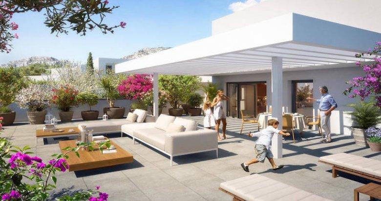 Achat / Vente appartement neuf Marseille secteur Sormiou (13009) - Réf. 4112