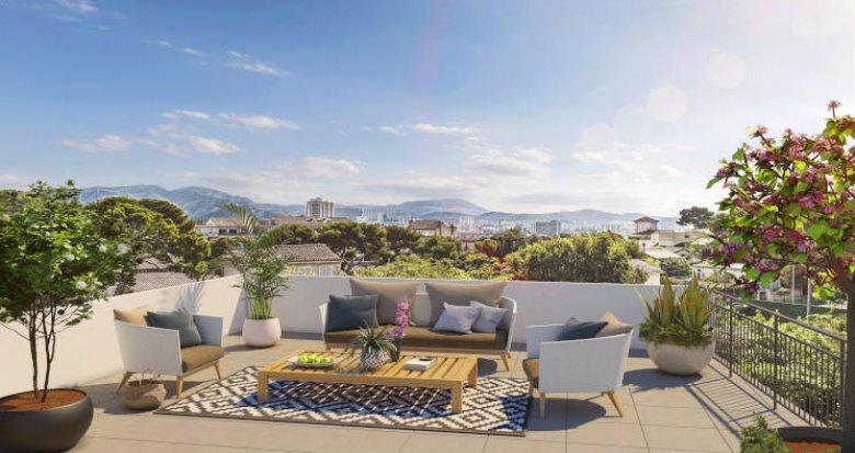Achat / Vente appartement neuf Marseille secteur Wulfran-Puget (13008) - Réf. 4111