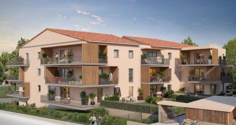 Achat / Vente appartement neuf Meyrargues à 5 minutes de la gare (13650) - Réf. 6259
