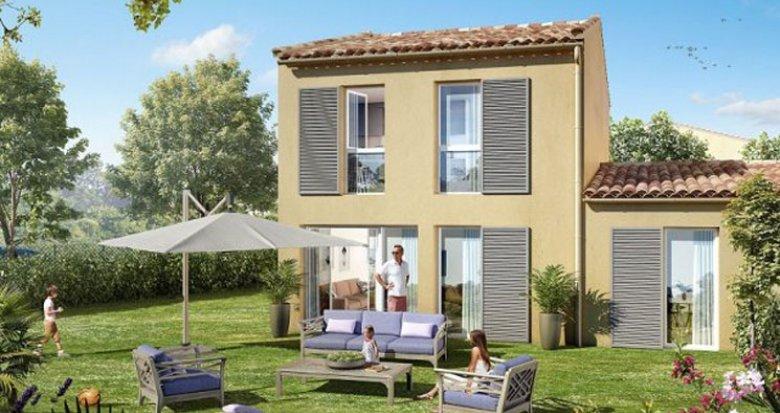 Achat / Vente appartement neuf Peyrolles-en-Provence proche pôle d'activités (13860) - Réf. 2260