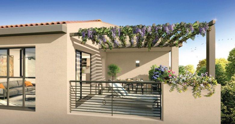 Achat / Vente appartement neuf Puyricard à 15 min de la fontaine de la Rotonde (13090) - Réf. 1099