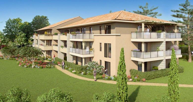 Achat / Vente appartement neuf Puyricard proche de l'étoile (13090) - Réf. 2091