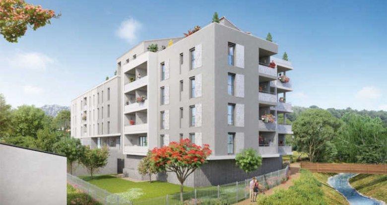 Achat / Vente appartement neuf Roquevaire au bord de l'Huveaune (13360) - Réf. 2626