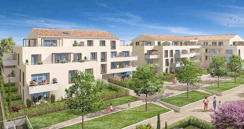 Achat / Vente appartement neuf Rousset proche Aix-en-Provence (13790) - Réf. 1715