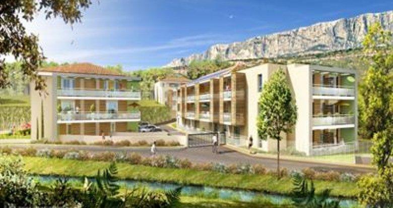 Achat / Vente appartement neuf Rousset quartier des Tartanes (13790) - Réf. 832