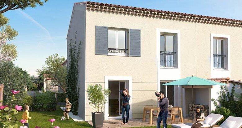 Achat / Vente appartement neuf Saint-Cannat proche centre-ville (13760) - Réf. 1117
