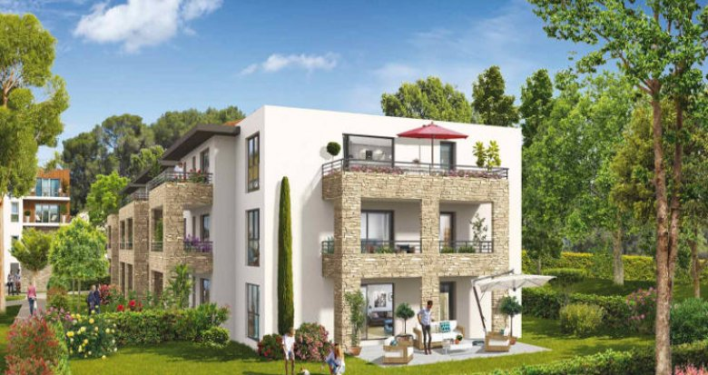 Achat / Vente appartement neuf Ventabren proche groupe scolaire Edouard Peisson (13122) - Réf. 3856