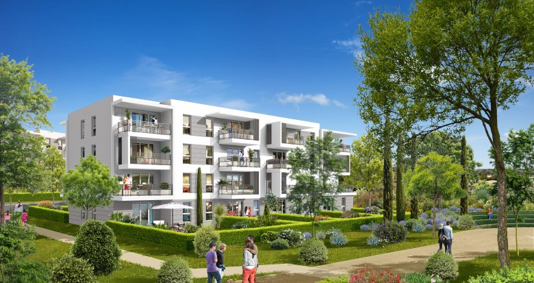 Achat / Vente appartement neuf Vitrolles face à l'étang de Berre (13127) - Réf. 626