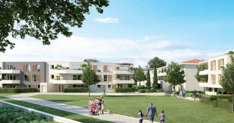Achat / Vente appartement neuf Vitrolles proche étang et transports (13127) - Réf. 5068